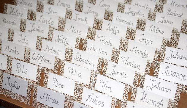 Deine Hochzeitsplaner - Gästemanagement